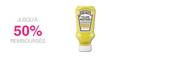 Classic Yellow Mustard Heinz