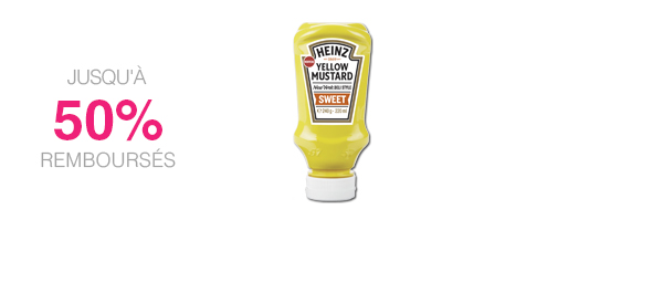 Sweet Yellow Mustard Heinz