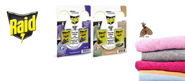 Raid® Gel Anti-Mites textiles