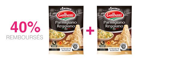 2 râpés italiens Galbani au choix