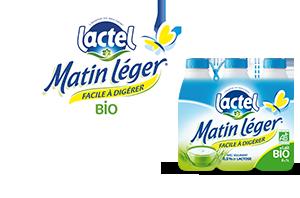 Lactel Matin Léger Bio