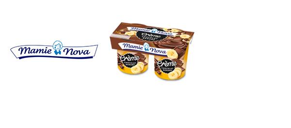 Les Crèmes Gourmandes Mamie Nova
