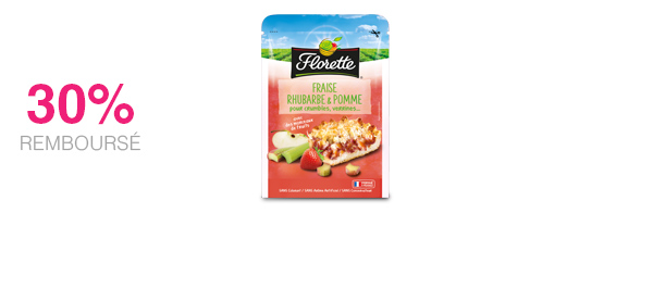 Fraise Rhubarbe & Pomme