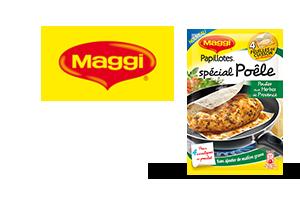 PAPILLOTES® Spécial Poêle MAGGI®