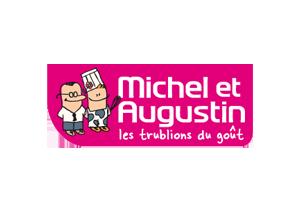 Michel et Augustin - Vache en pot