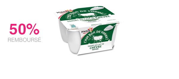 Les yaourts au lait de chèvre