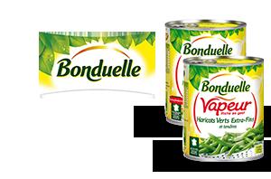 Légumes Vapeur en conserve