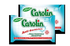 Lingettes  Anti-Bactérien