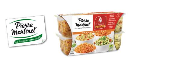 Salades Portions Pierre Martinet
