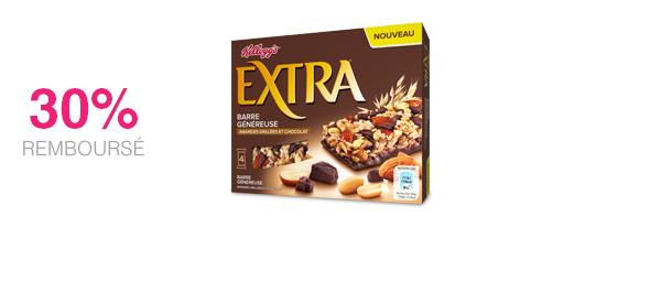 Barres Extra Chocolat & Amandes