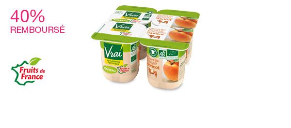 Yaourt Bio Brassé à l'Abricot
