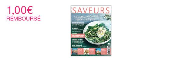 Le magazine Saveurs
