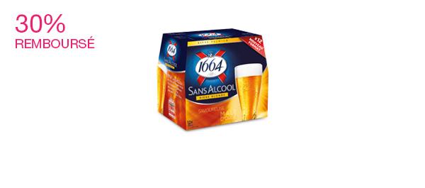 Bière Blonde 1664 Sans Alcool