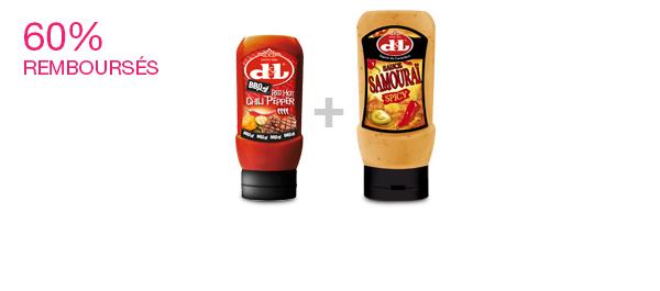 Les sauces relevées de Devos & Lemmens