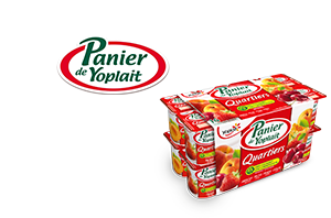 Panier de Yoplait Quartiers