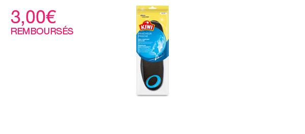 Kiwi® Semelles Fraîcheur Déo