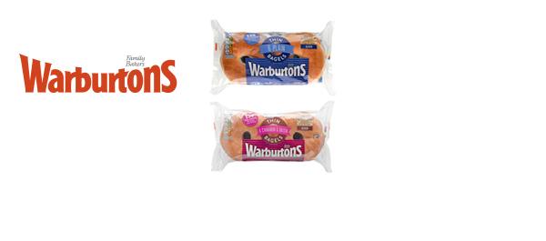 Warburtons Thin Bagels