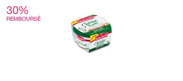 Le fromage de chèvre fouetté nature