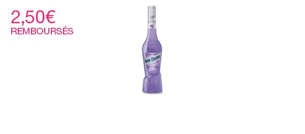 Liqueur de Violette MARIE BRIZARD
