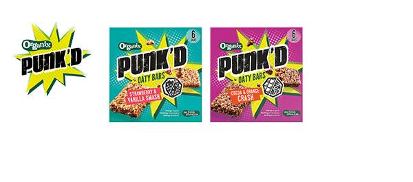 Organix Punk'd Oaty Bars