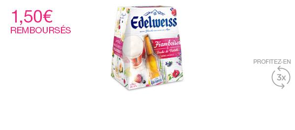 Edelweiss Framboise Touche de Violette