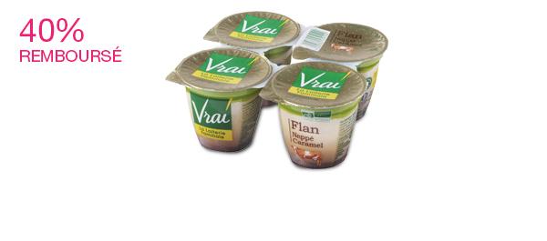 Flan Bio Vanille nappé caramel