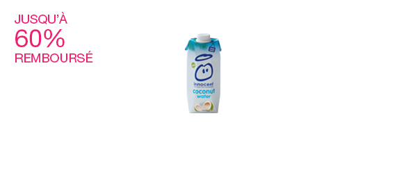 L'eau de coco innocent 50cl