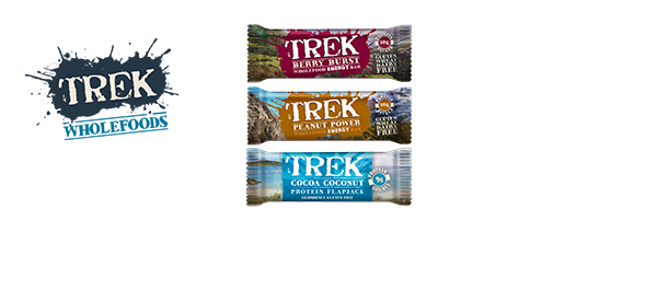 TREK Protein Energy Bars & Flapjacks
