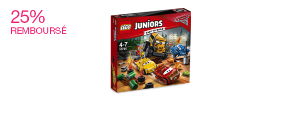 LEGO® Juniors Disney Pixar Cars 3