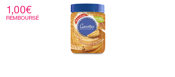 Pâte à tartiner Croustillante au Caramel