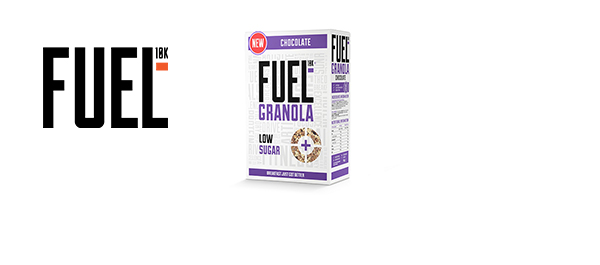 New Fuel10K Low Sugar Granola