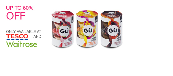 New Gü Mousse Fusions twin pack