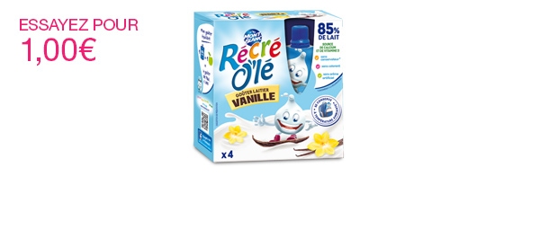 Récré O'lé Vanille x4