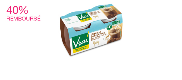 Crème renversée Bio Brebis Chocolat