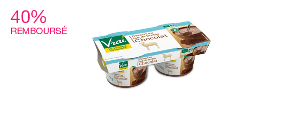 Dessert Bio Brebis Chocolat