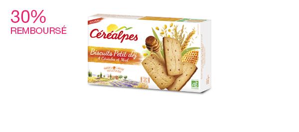 Les biscuits Petit-Déj