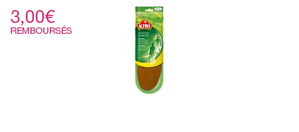 Kiwi® Semelles Confort Extrafine