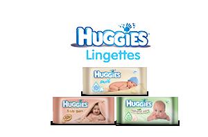 Huggies  Lingettes