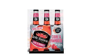 Cidre & Framboise 3x27,5cl