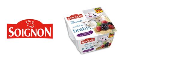Les yaourts au lait de brebis Soignon