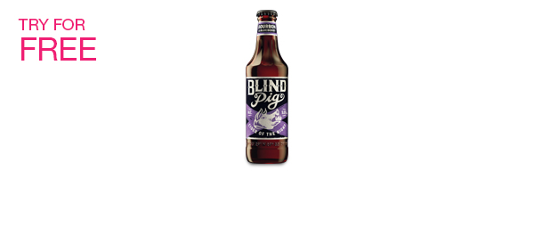 Bourbon & Blueberry Cider