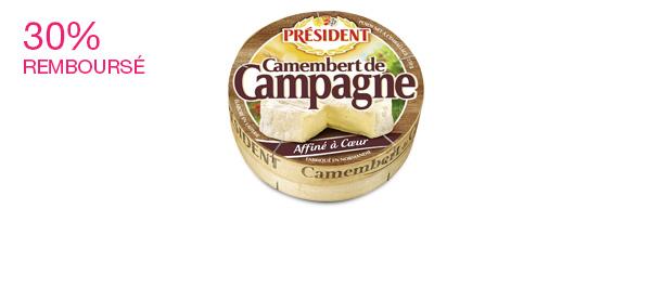 Le Camembert de campagne