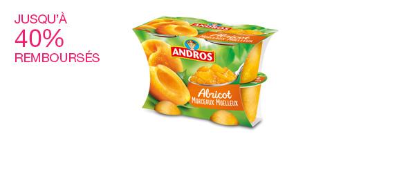 Les desserts morceaux Andros