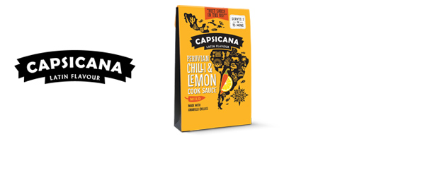 Capsicana - UK's Best Cook Sauce!