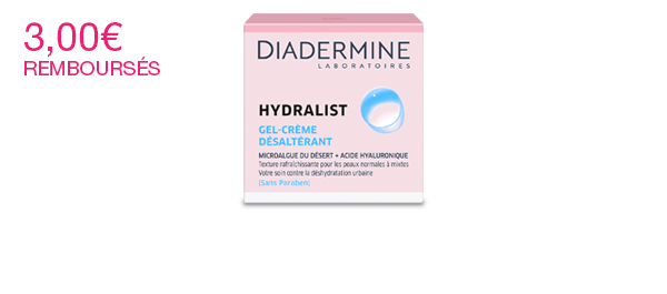 Hydralist Gel-Crème Désaltérant