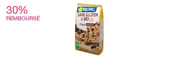 Muesli Bjorg Sans Gluten