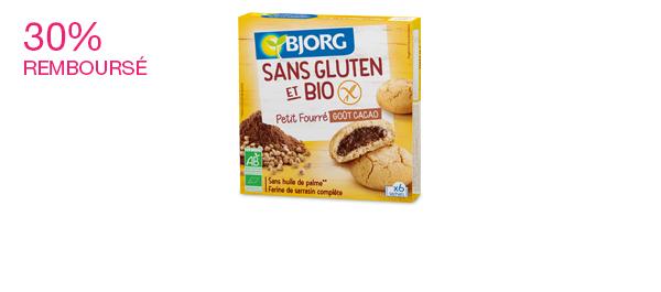 Petits Fourrés Bjorg Sans Gluten