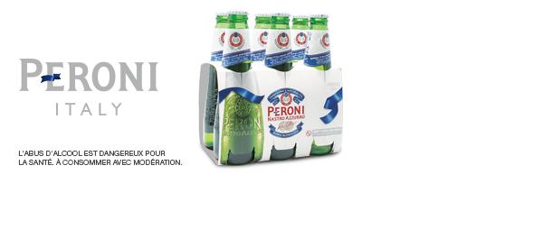 Bière Peroni Nastro Azzurro
