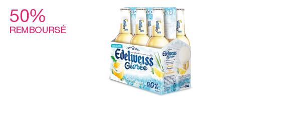Edelweiss sans alcool Citron Givré