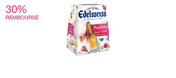Edelweiss Framboises et Violette